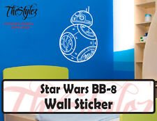 Star Wars Force Awakens BB-8 II Oversize Wall Vinyl Sticker