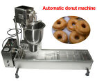 Commercial Automatic Donut Maker Making Machine, Wider Oil Tank, 3 Sets Molds