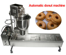 Automatic Donut Maker Making Machine,Wide Oil Tank 3 Sets Free Mold