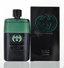 GUCCI GUILTY BLACK * Cologne for Men * EDT * 3.0 oz * BRAND NEW IN BOX