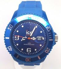Ice-Watch Men's SI.BE.B.S.09 Sili Collection Plastic Watch READ DESCRIPTION!!!