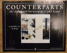 Music Poster Promo Counterparts ~ The Difference Between Hell and Home