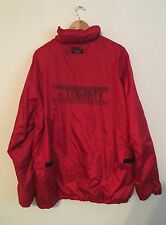 Vintage Tommy Hilfiger Tommy Jeans Red Full Zip Jacket Windbreaker