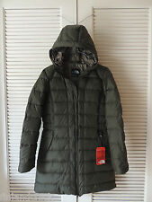 NORTH FACE FOREST NIGHT GREEN GOTHAM 550 DOWN HOODED PARKA JACKET,  MEDIUM ~NWT