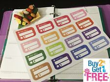 PP211 -- 16pcs Pay Bill Reminders Life Planner Stickers for Erin Condren