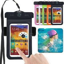 Black Bag Underwater Pouch Dry Case Cover For Samsung Galaxy Grand Prime G530