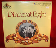 Laserdisc (n)  * Dinner At Eight * John Barrymore Extended Play New Seal PUNCH