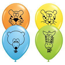 Jungle Animal Latex Balloons, Birthday Party, Petting Zoo, Safari Baby Shower 10