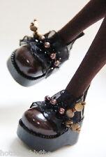 Custom Mary Jane SHOES For Blythe/Pullip/Lalaloopsy/Hujoo/Momoko B3_218 Dark BN