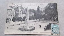 Lot de 2 CPA 70 Haute-Saône Vesoul. Place de la République Monument commémoratif