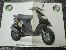 D538 BROCHURE PUCH TYPHOON BROMSCOOTER DUTCH 2 PAGES