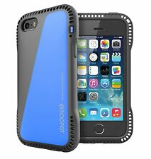 SOOPER iPhone SE / 5s / 5 Case Extreme Durable Air Cushion Series-Santorini Blue