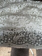 Stunning Floral Ivory Pearl White Coloured Guipure Cord Lace