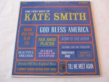 Kate Smith - The Very Best of Kate Smith Vinyl LP Album