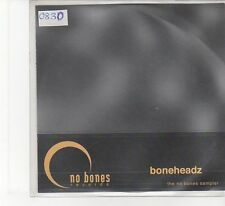(FB548) Boneheadz, The No Bones sampler - 2001 DJ CD
