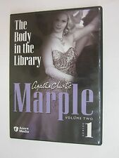 Agatha Christie - Marple - The Body in the Library( DVD, 2005)  VOL.TWO SERIES 1