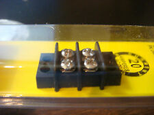 Blue Sea MARINE / RV ELECTRICAL BUS BAR 2 GANG 20 amp Terminal NEW pkg FREE ship