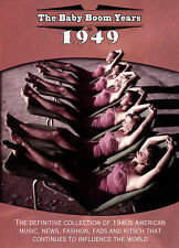 BABY BOOM YEARS-BABY BOOM YEARS: 1949 / (DOL) DVD NEW