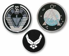 STARGATE SG1 Set of 3 Main Team Prop Jacket VELCRO Patches: SG-1, Chevron & USAF