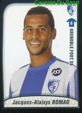 098 ALAIXYS ROMAO TOGO GRENOBLE FOOT 38 OLYMPIACOS STICKER FOOT 2010 PANINI