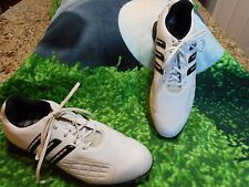 Mens Adidas Traxion Powerband Chassis Golf shoes SZ 9 M U.S.A. Exclnt condition