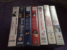 VHS Bundle Comedy X7Tapes Jerry Maguire Birdcage Mr Bean Blackadder American Pie