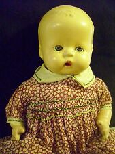 Antique composition HORSMAN 12 inch doll, LITTLE BABY BUTTERCUP, 1930's