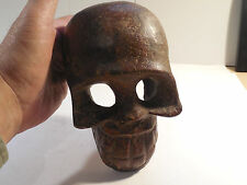 Huge Toltec Stone Skull Wow Pre-Columbian Archaic Ancient Artifact Olmec Mayan
