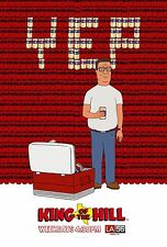 King of the Hill Tv Show Poster Style D 13x19 inches