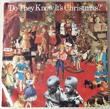 "BAND AID,FEED THE WORLD,DO THEY KNOW ITS CHRISTMAS,7"" LP,VINYL GREAT CONDITION"