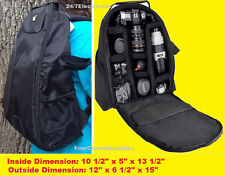 FULL SIZE PADDED BACKPACK CASE BAG fit CAMERA NIKON SLR D40 D50 D60 D70 D80 D90