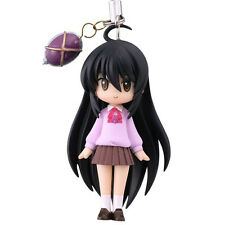Shakugan no Shana Shana w/ Purple Shirt Mascot Licensed Phone Strap NEW
