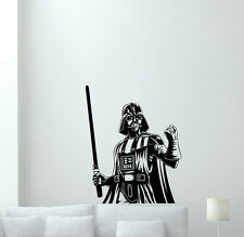 Darth Vader Wall Decal Sith Lord Star Wars Movie Vinyl Sticker Home Decor 111aaa