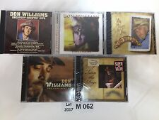 Best of Don Williams Country Hits Love Stories Turn Page Heart You 5 CD Lot M062