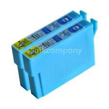 2 kompatible Tintenpatronen blau für Drucker Epson SX440W SX235W