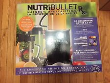 BRAND NEW NutriBullet Rx Blender mixer 10 piece set 1700 WATT