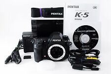 Pentax K K-5 16.3 MP Digital SLR Camera - Black Body w/Box Exc++ from Japan