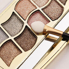 6# Beauty Makeup 12 Colors Shimmer Eyeshadow Palette Shadows with Brush Cosmetic