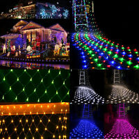 3M*2M 6M*4M LED Net Fairy Lights Christmas Wedding Party Garden Indoor & Outdoor