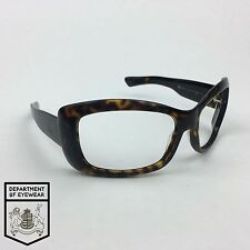 GIORGIO ARMANI eyeglass TORTOISE WRAP AROUND frame Authentic. MOD: GA 53/STRASS
