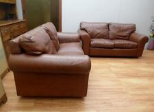GENUINE Moran LEATHER 2 x 2 SEATER Sofa LOUNGE Suite DELIVERY Adelaide