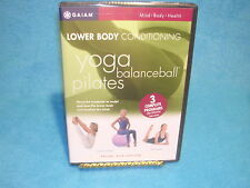 Lower Body Conditioning: Yoga, Balanceball, and Pilates (DVD)