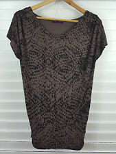 VELVET By GRAHAM & SPENCER sz S (or 10 )  womens print top [#2351]