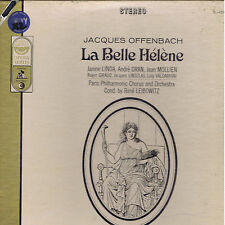 Offenbach LA BELLE HELENE Linda Dran Mollen - box 2 LP Everest Cetra SEALED