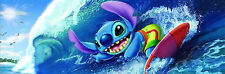 Tenyo Japan Jigsaw Puzzle DSG-456-729 Disney Stitch Big Wave (456 Small Pieces)