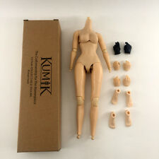 1/6 Cy Girl Kumik Female Nude Body Figure+Extra Hands+Feet fit obitsu head V2.5