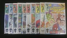 Amazing Spiderman Lot of 10 near mint