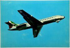 Cartolina Aviazione - Aereo In Volo Caravelle Jet Alitalia - Non Viaggiata