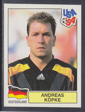 Panini - USA 94 World Cup - # 180 Andreas Kopke - Deutschland (Green Back)