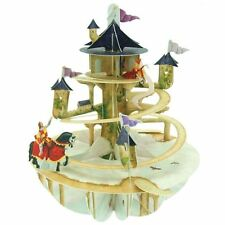 Santoro 3D Pirouette Greeting Card - Princess Tower
